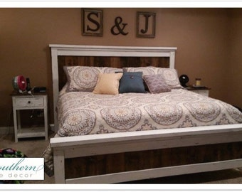 Farmhouse Style Bed