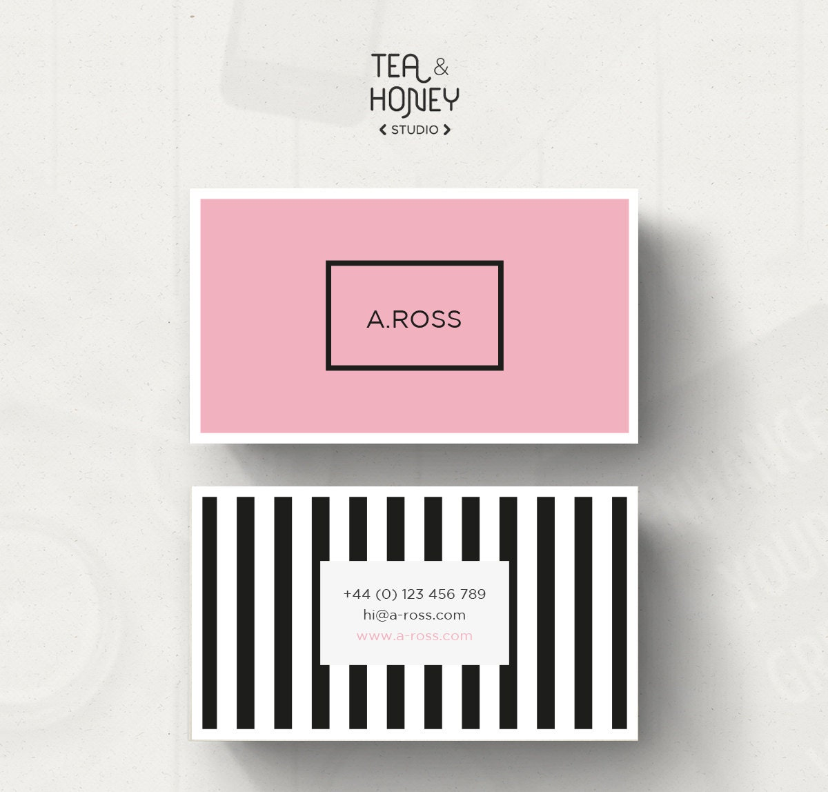 Cool black and pink business cards images business card ideas nice black and pink business cards photos business card ideas fbccfo Image collections