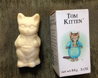 Tom Kitten Soap, Crabtree & Evelyn Tom Kitten Soap, Beatrix Potter Soap, Tom Kitten, Beatrix Potter, Made in England, Toto Le Minet Soap