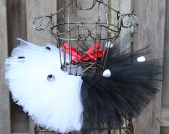 Cruella DeVille Inspired Tutu Costume - JT15145