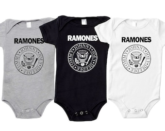 The Ramones Baby one piece