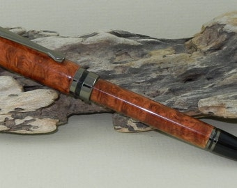 Amboyna Burl Wood Classic Twist Pen