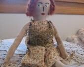 Primitive Folk Doll Summer, FAAP, OFG, HAFair