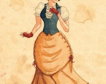 Steampunk Snow White - ORIGINAL 3/3