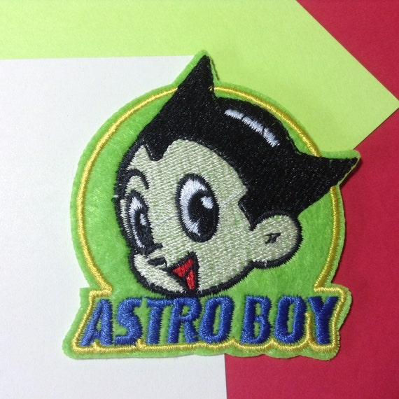 Iron On Sew On Patch: Astro Boy From DkPATCHES On Etsy Studio