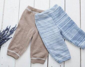Organic Merino Wool Baby Pants