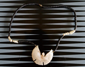 Bird of Shell Necklace