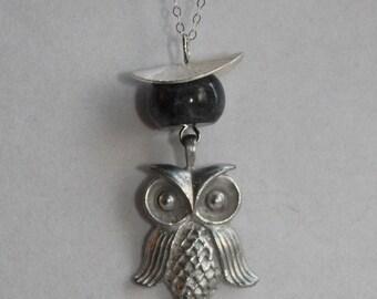 Larvikite Owl