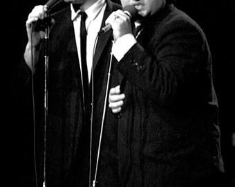 The Blues Brothers Poster, Jake and Elwood, Live in Concert, Dan Aykroyd, John Belushi