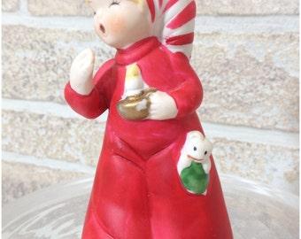 Merry Bells Jasco sleepy child with candle