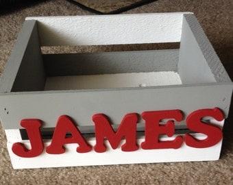 Personalized Wooden Children's Box