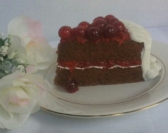 Cherry Chocolate Cake - Fake Food that Smells and Looks Real!