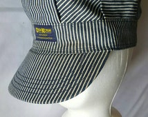 Popular items for train conductor hat on etsy for Conductor hat template