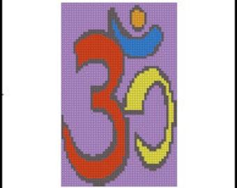 OHM Digital Needlepoint or Cross Stitch Pattern