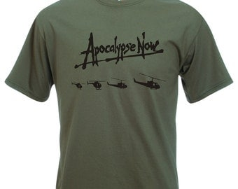 Apocalypse Now Helicopters T-Shirt - Ride Of The Valkyries, Kilgore, Brando, Icon, All Sizes/Colours