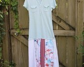 Upcycled Dress -- Women's Patchwork Dress -- Upcycled, Eco-Friendly Dress -- Eco-Friendly Clothing