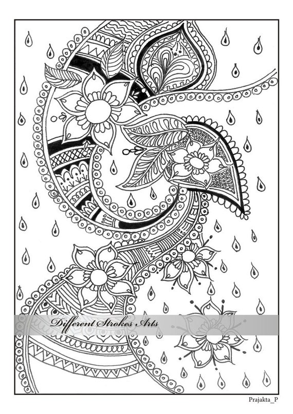 It's just a graphic of Crafty Printable Adult Coloring Page