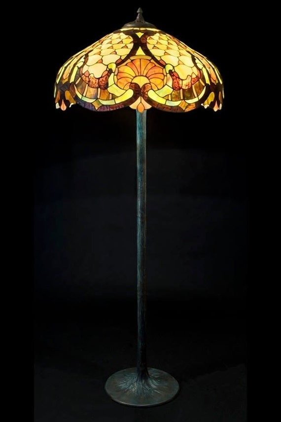 Roccoco floor lamp