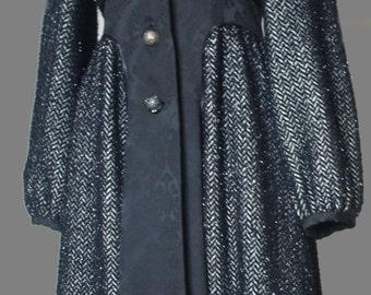 Large coat  KENZO DEFILEluxury size 40