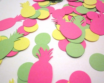 Pineapple Confetti | Pineapple Party Decor | Tropical Confetti | Luau Confetti | Aloha Party | Palm Springs Party | Party Like a Pineapple |