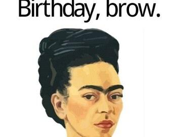Happy Ending Greetings-Happy Birthday Brow!