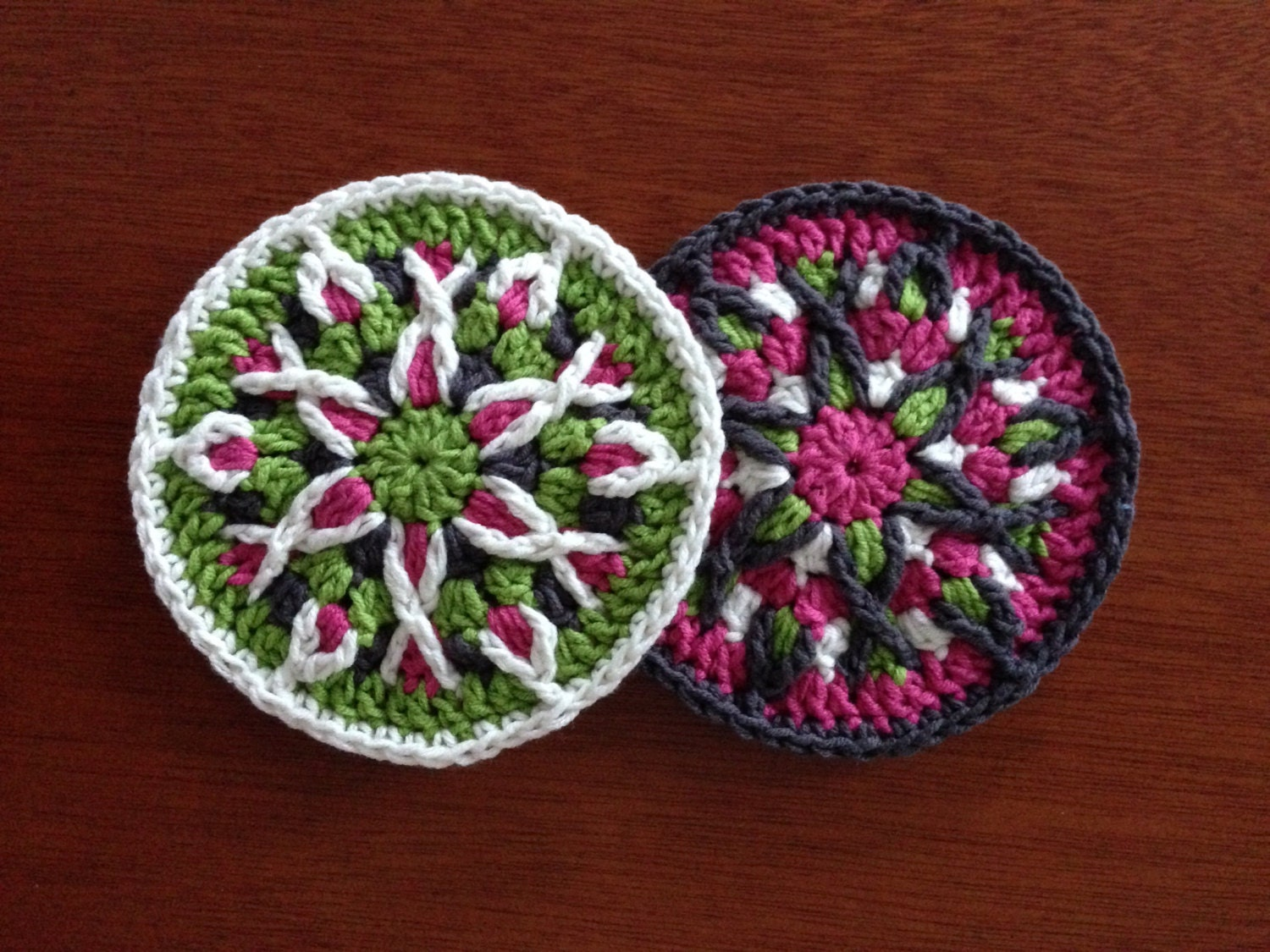 Crochet mandala pattern tutorial crochet coaster pattern zoom bankloansurffo Images