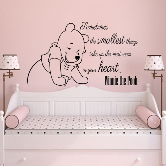 Winnie The Pooh Wall Quotes: Classic Winnie The Pooh Wall Decals Quotes Sometimes The