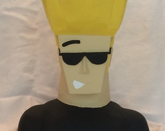 Johnny Bravo!!! - Handmade Ceramic Sculpture
