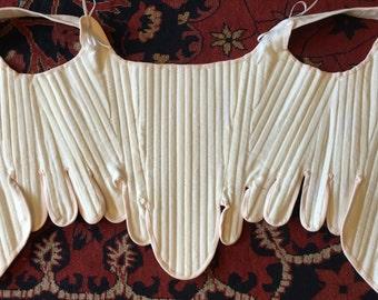 18th Century Stays (corset), Historical Reenactment, Georgian, Revolutionary War , 1776, Colonial, DAR