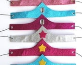 Ships Fast - Girls Sparkle Crown - Lots of options - comfortable and adjustable - Superhero and princess accessory - FROZEN Crown