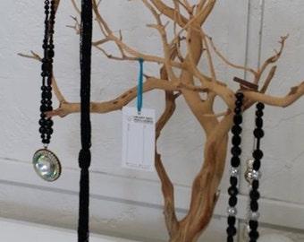 "19"" All Natural Jewelry Tree / Jewelry Organizer"