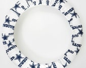 Steering Wheel Cover Dallas Cowboys-Football Team Wheel Cover-Team Car Accessory- Sports Team Car Decor-Steer Wheel Cover