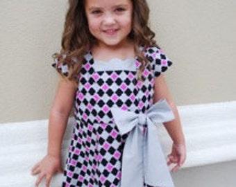 Little Girls Darling Party Dress