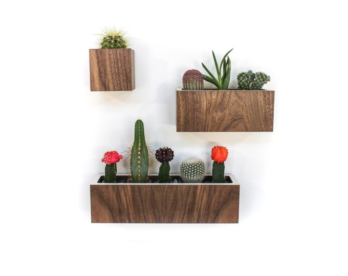 """Featured listing image: Set of 3 Planters S-M-L Petite 