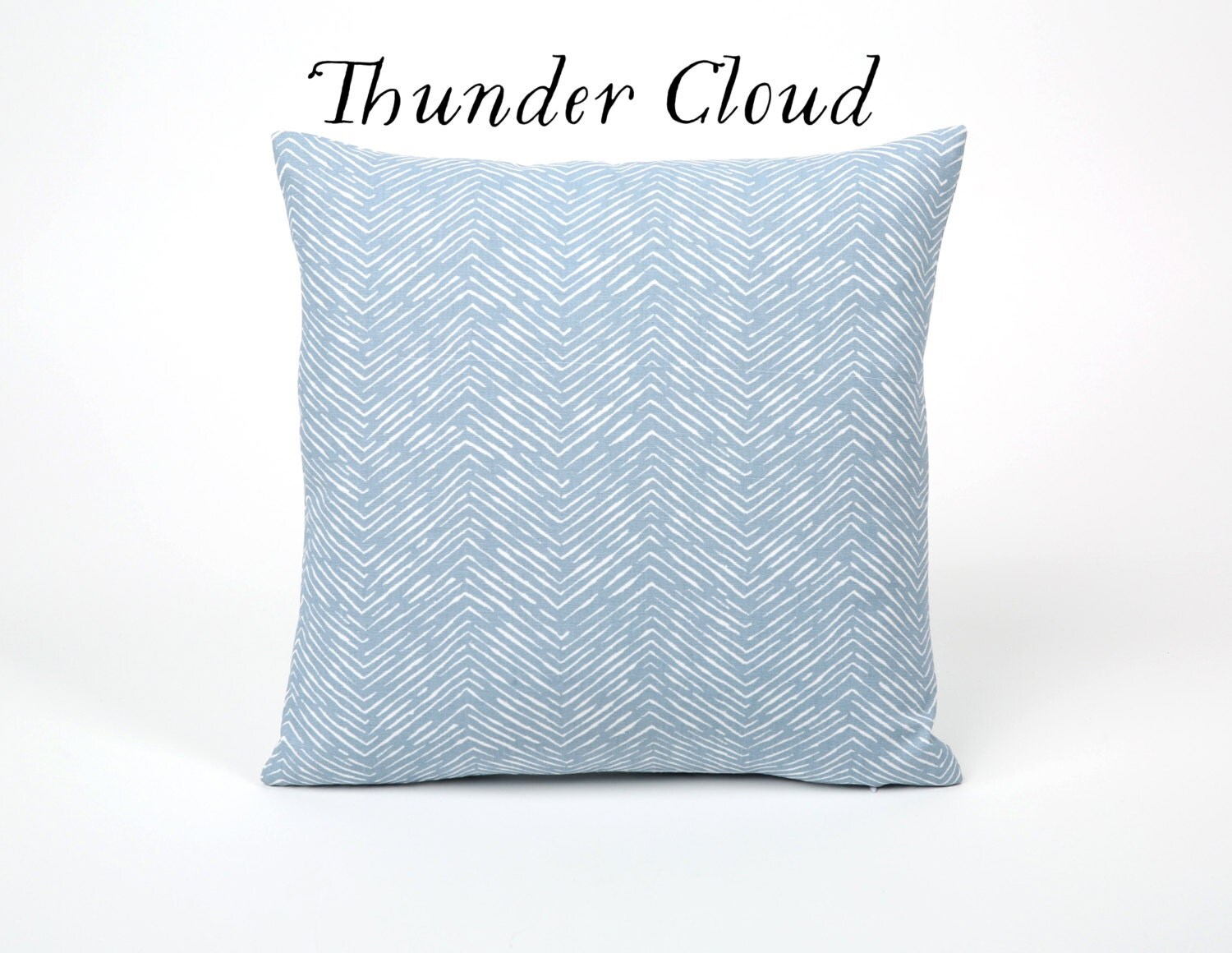 Light Blue Throw Pillow Covers : Light Blue Decorative Throw Pillow Cover 18x18 20x20 24x24