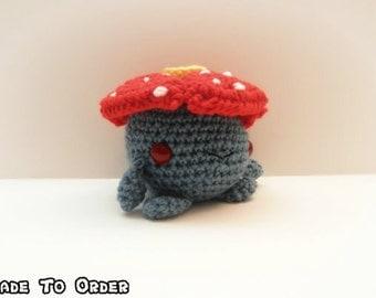 Crochet Vileplume Inspired Chibi Pokemon