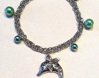 Dolphin Charm Bracelet