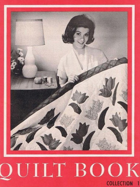 Book Cover Vintage Quilt : Quilt pattern quilting book
