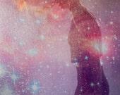 Silk Hydrus Galaxy Scarf. FREE SHIPPING USA