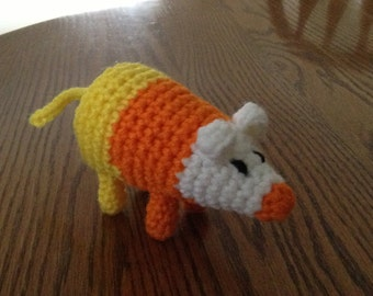 Crochet Science the Candy Corn Mouse from Adventure Time, Made to Order