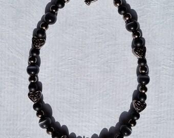 Fur the Love of Cats Series Bracelet- Black Kitty