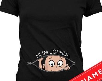 Pregnancy T Shirt Etsy