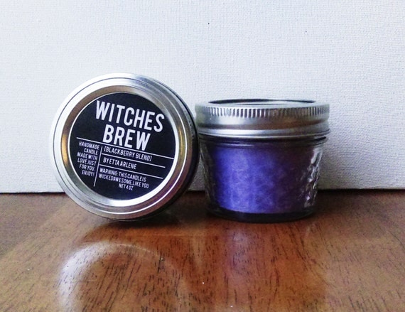 Witches Brew Candle, Fall Candle, Gift, Soy Candle