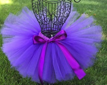 Purple Tutu, Baby Tutu, Birthday Tutu, Toddler Tutu, Infant Tutu, Newborn Tutu, Sophia The First Tutu, Dark Purple Tutu, photo prop, Costume