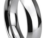 Classic Tungsten Wedding Band FREE SHIPPING