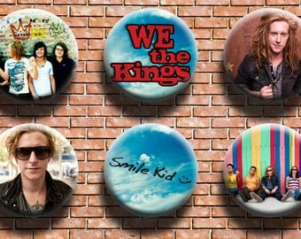 We the Kings 1.25 Inch Button Six Pack