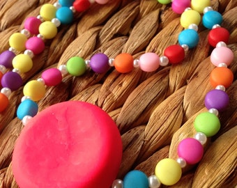 Sugar Free!! - Extremely Bright Beaded Necklace