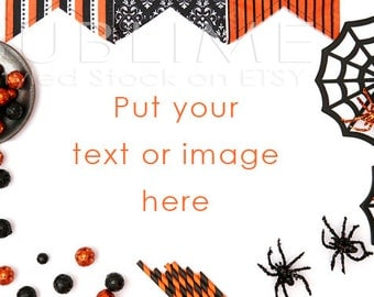 Halloween Styled Stock / Halloween Stock / Halloween Background / Halloween Mock Up / Halloween Desktop / Halloween Photo / StockStyle-542
