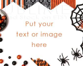 Halloween Styled Stock / Halloween Stock / Halloween Background / Halloween Mock Up / Halloween Desktop / Halloween Photo / StockStyle-542