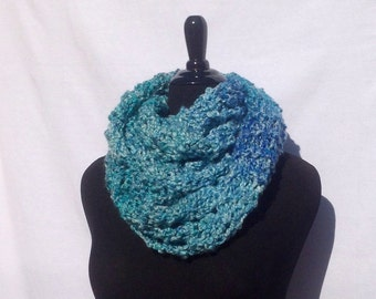 Super Soft Infinity Scarf in Turquoise